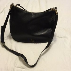 Kate Spade Leather Hobo with Crossbody strap